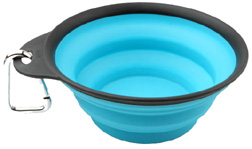 Collapsible Travel Cup 1 Cup/8 oz. SMALL BLUE