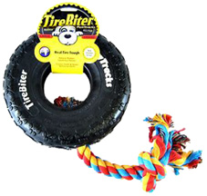TIREBITER Pawtracks w/ Rope Small 6""