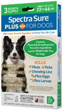 Spectra Sure PLUS IGR for Dogs (23-44 lbs) 3 Dose Durvet