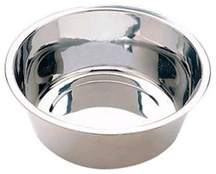 Stainless Steel No Tip Dish Mirror Finish 10 QUART