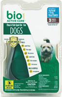 Flea & Tick Spot On DOG TOY/SMALL 3 month Farnam Pet