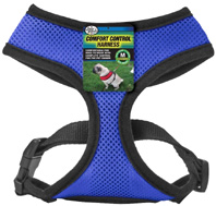 Comfort Control Harness Blue MEDIUM
