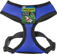 Comfort Control Harness Blue SMALL