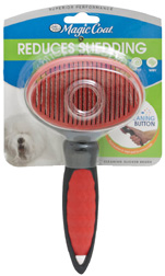 Magic Coat Self Cleaning Slicker Brush