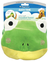 Magic Coat Bath Time Ultra Soft Hooded Towel FROG