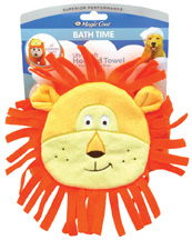 Magic Coat Bath Time Ultra Soft Hooded Towel LION