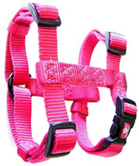 Adjustable Comfort Dog Harness Hot Pink MEDIUM