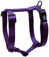 Adjustable Comfort Dog Harness Purple LARGE