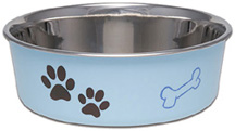 Bella Bowl Classic Murano Blue MEDIUM/LARGE Loving Pets Products
