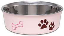 Bella Bowl Classic Paparazzi Pink MEDIUM/LARGE/X-LARGE Loving Pets Products