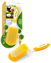 Snap-N-Clean Self Cleaning Pet Brush