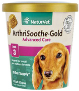 Arthrisoothe Gold Advanced Joint Care Level 3 Small/Medium Dogs SOFT CHEWS 70