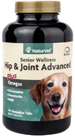 Senior Wellness Hip & Joint Advanced CHEWABLE TABS 40