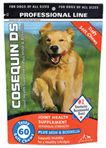 Cosequin Joint Health Supplement DS Maximum Strength Plus MSM & Boswellia 60 Soft Chews