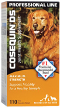 Cosequin Joint Health Supplement DS Maximum Strength  110 Chewable Tabs