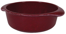 Muttnation Crock Bowl 4 Cups RED