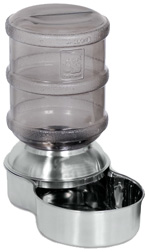 Replendish Waterer SMALL STAINLESS STEEL 1 GAL