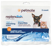 Replendish REPLACEMENT FILTERS 3 PK.