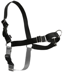 Easy Walk Harness Black/Silver PETITE