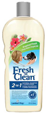 FRESH N CLEAN 2 IN 1 SHAMPOO CONDITIONER Oatmeal Tropical Scent 18 oz. PetAg Lambert Kay