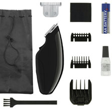 Super Pocket Pro Trimmer BLACK 11 pc. #9961-2801 Wahl